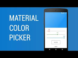 material color picker android apps on google play
