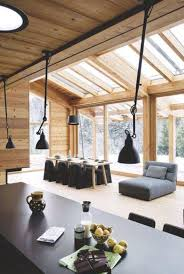 Chalet Houses 203 Best Log House Interior Images On Pinterest Quick Garden