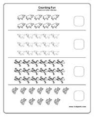 easy counting worksheets downloadable math worksheet teachers
