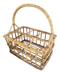 vintage u0026 used mid century modern baskets chairish