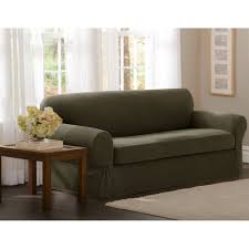 Loveseat Couch Maytex Stretch 2 Piece Sofa Slipcover Walmart Com