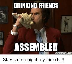 Meme Crunch - 25 best memes about drinking friends assemble drinking