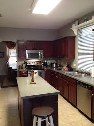 Traditional Dark Wood Kitchen Cabinets Furniture Simple Paint Kitchen Cabinets With General Finishes Gel