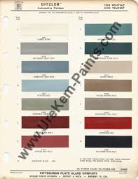 1964 pontiac gto car paint colors urekem paints