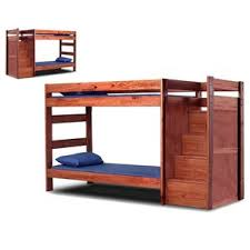 Twin Bunk Bed With Desk And Drawers Mahogany Kids U0027 Beds You U0027ll Love Wayfair