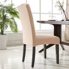 Fabric Dining Chair Covers Romanzo Quality Knitted Fabric Spandex Chair Cover One