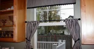 curtains window treatments for kitchen stunning modern kitchen