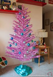 why hello there pink aluminum tree atomic