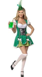 cheap costumes for women 2013 green luck girl costume oktoberfest promotional