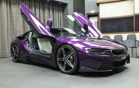 Bmw I8 With Rims - bmw i8 in twilight purple gets ac schnitzer carbon kit autoevolution