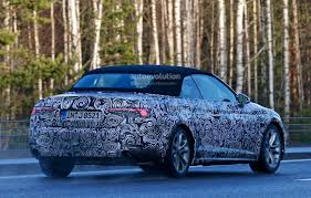 convertible audi 2016 spyshots 2017 audi a5 cabriolet spied for the first time