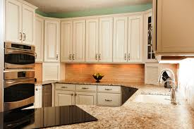 Kitchen Cabinet Wood Choices Cabinets U0026 Drawer White Cabinet Kitchen Design With Long Chrome