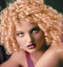 thick spiral perm hairstyle