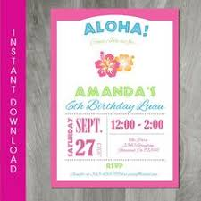 Printable Hawaiian Decorations Hawaiian Luau Birthday Party Food Labels Printable Hawaiian