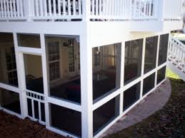 St Louis Patio Furniture by Deck And Under Deck Porch Enclosure St Louis Mo Screened
