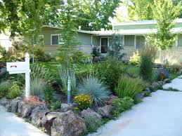 Front House Landscaping by Colorado Zeriscape For Front Yard Xeriscaping Ideas