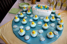 Baby Shower Table Decoration by Rubber Ducky Baby Shower Table Decor The Simple Concept From
