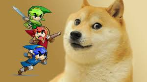 Doge Meme Shiba - how triforce heroes meme references and controversy collided