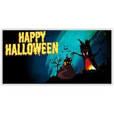 happy halloween banner halloween selfie frame photo booth prop poster paper blast