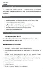 recruiting manager resume template human resources manager resume sle here are some ways to