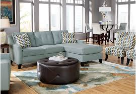 cindy crawford living room sets cindy crawford home madison place hydra 5 pc sectional living room