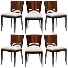 stunning french art deco dining chairs french art dining chairs