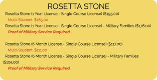 rosetta stone yearly subscription rosetta stone foundations for k 12 global student network