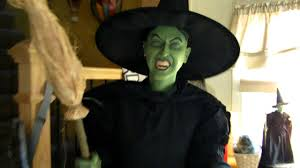 witch costume spirit halloween lifesize animated wizard of oz wicked witch youtube