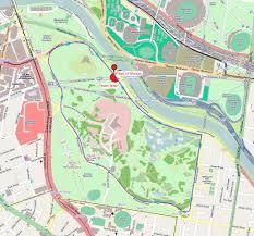 Royal Botanical Gardens Melbourne Map Track At Royal Botanic Gardens Melbourne