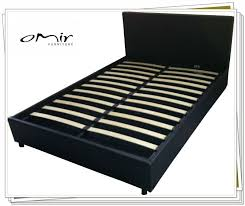 faux leather storage ottoman bed shop for sale in china mainland