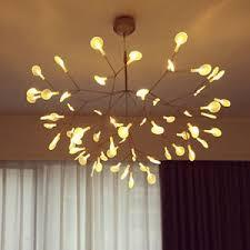 2 pendant light fixture heracleum ii small pendant light tree leaf creative led chandelier