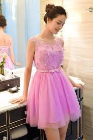 pink homecoming dress on luulla