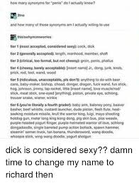 Meme Synonyms - 25 best memes about synonyms for penis synonyms for penis memes