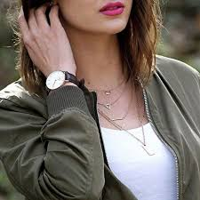 girl wear necklace images 15 ways to wear layered necklace like a pro jpg