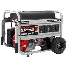 powerstroke 6 800 watt gasoline powered electric start portable