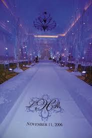 Purple Aisle Runner All White Autumn Wedding At South Beach In Miami Florida Inside