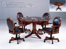 game table and chairs set game tables gammonvillage store usa