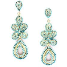 pretty earrings pretty turquoise earrings for a chic look aelida