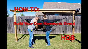 Diy Portable Hammock Stand How To Make Your Own Hammock Stands Hennessy Hammocks Youtube
