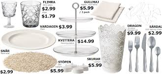 best ikea products the best ikea products for diner en blanc french twist d c