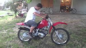 motocross bike reviews 2004 flywing mx 150cc dirt bike youtube