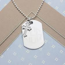personalized dog tag necklace boys personalized dog tags in sterling silver with engraving and