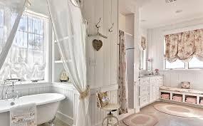 tendaggi shabby chic idee bagno shabby chic idee di design per la casa