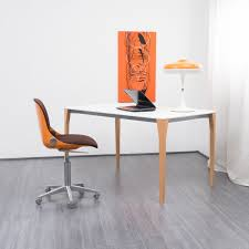 le de bureau orange chaise de bureau orange modèle 2326 par wilkhahn 1970 design