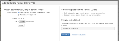 creating reviews from the command line atlassian documentation