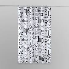 essential home shower curtain live laugh love shop your way