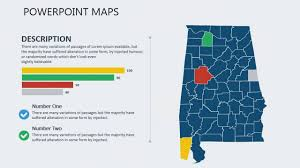 Alabama Counties Map Powerpoint Map Of Alabama With Counties Youtube