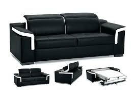 cdiscount canap convertible 3 places discount canape lit cuir noir 3 places canapac convertible nefertiti