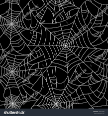 halloween repeating background patterns halloween spider web seamless pattern black stock vector 499910290