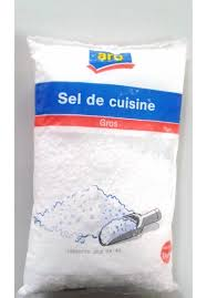 gros sel de cuisine aro 1 kg bordy frais